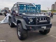 2018北京车展探馆:BJ806×6皮卡实拍