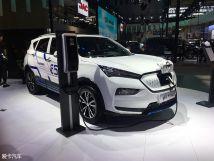 2018年北京车展:全新海马E5正式亮相