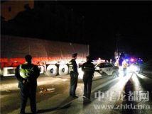 """""""百吨王""""频过压坏路27台超载车被查处"""