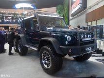 2018北京车展:全新BJ806×6皮卡发布