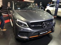 2018北京车展:AMGGLE434MATIC特别版亮相橙色元素上身