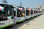 海南屯昌:30辆新能源公交车投入使用