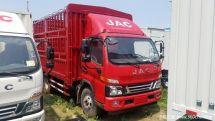 五月促销商丘三泰骏铃V6载货仅13.48万