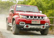 新车发力 北京(BJ)40蝉联中国品牌越野型SUV市场销量冠军