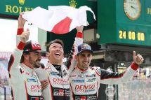 丰田终于打破勒芒赛魔咒阿隆索勒芒首秀赢得比赛