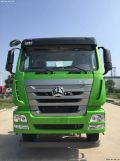 首款中国重汽豪瀚J6G自卸车在济宁正式下线