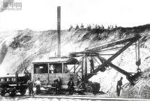 巨型电铲的鼻祖—蒸汽铲