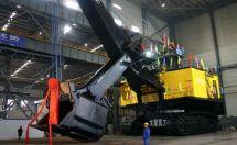 世界最大级别挖掘机——太原重工WK-75型矿用电铲