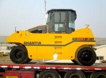 山推SR26T-3升级版轮胎压路机畅销海外