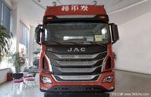 新车到店上海格尔发K5牵引车仅23.3万