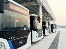 余杭115辆新能源公交投入使用