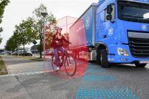 采埃孚:IAA展示卡车盲点监测系统