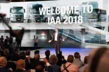 2018汉诺威车展:曼恩展现电动卡车魅力