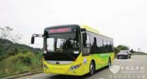 四川南充:顺庆区首条纯电动城乡公交线路开通