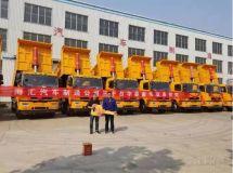 30台自卸车+10台汉马H7牵引车,华菱星马与海汇集团合作升级