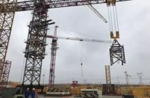 中联重科超大型塔机出口海外参建世界未来九大航空港