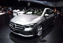 奔驰全新B级亮相巴黎车展未来将进口引入国内时间尚未确定