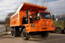 北奔重汽二十台90吨宽体自卸车成功中标中国有色华鑫马本德项目