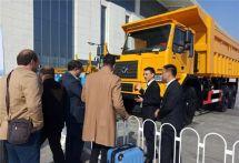 徐工XG90非公路宽体自卸车出战2018中国国际矿业大会