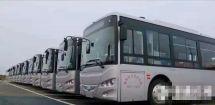 阜阳首批20台纯电动公交车投入运营