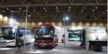 海格客车旅游用车亮相2018旅游客车博览会