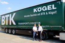 德国BTK物流订购50辆考格尔Lightplus半挂车