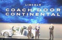 """林肯大陆全新车型曝光车门和劳斯莱斯一样""""对开"""""""