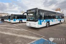 迎接绿色交通发展新时代宇通首批纯电动客车在保加利亚启动