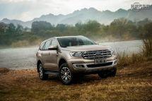 新款硬派SUV福特撼路者预售开启越野新征程