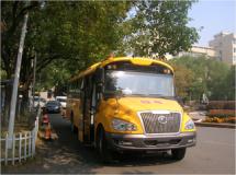 """""""长鼻子""""校车在启东上岗173名小学生有了""""专车接送"""""""