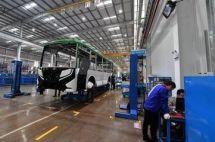 银川比亚迪:25天制造一批次新能源客车