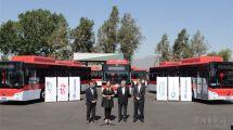 宇通100辆纯电动客车交付智利每年可为智利减少碳排放9700多吨