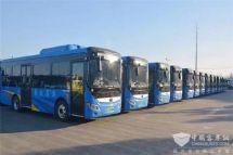 江苏:88台新能源公交上线手机免费充电