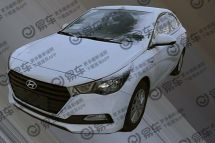 北京现代悦纳新车型曝光增1.4L+CVT动力/或夏季上市