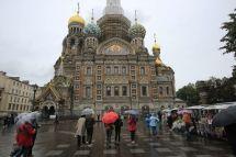 俄罗斯圣彼得堡莫斯科车友阳光开房车欧亚自驾(18)