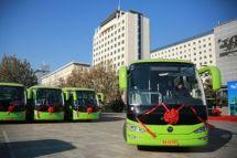 密云全市率先实现绿色公交车全覆盖