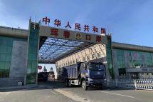 10辆一汽解放J6自卸车发往俄罗斯