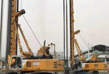 宝峨铣槽机旋挖钻助力广东华亮公司广州北站交通枢纽工程建设