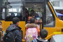 """开学第一天,""""大鼻子""""校车开到家门口"""