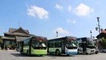 曲阜:新购置63辆电动公交车投入使用