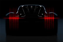 阿斯顿·马丁Project003预告图搭V6混动系统/日内瓦车展亮相