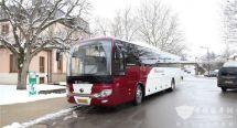 宇通ICe12纯电动城际客车交付卢森堡运输公司