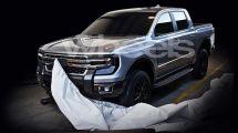 福特换代Ranger皮卡假想图曝光与大众Amarok同平台