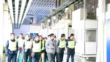 广东区域客户代表走进华菱星马点赞发动机智能工厂