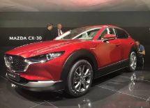 全新马自达CX30正式发布,定位为紧凑型SUV,售价16万元起步