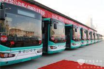 合肥:高新公交653线车辆大换新纯电动新能源公交车上线