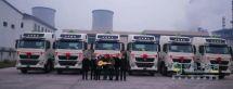 6台中国重汽天然气牵引车交付用户