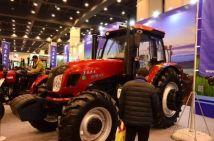 上柴动力助力东风拖拉机在郑州农机展大展异彩
