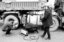 三门峡市治理柴油货车污染76台车被遥感监测系统抓个正着