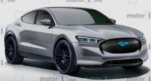 福特跨界純電版Mustang預告圖曝光預計2020年正式亮相